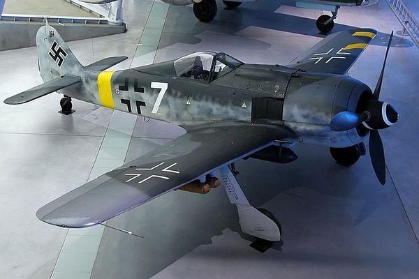 Foke-Vulf Fw 190 u nemačkom muzeju vazduhoplovstva