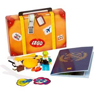 Set na poklon - LEGO pasos sa minifiguricom