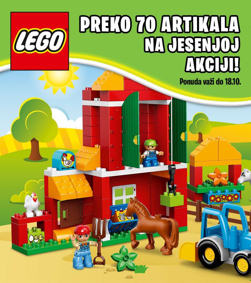 LEGO jesenja akcija