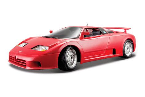 Bugatti EB110 – Burago Gold 1:18