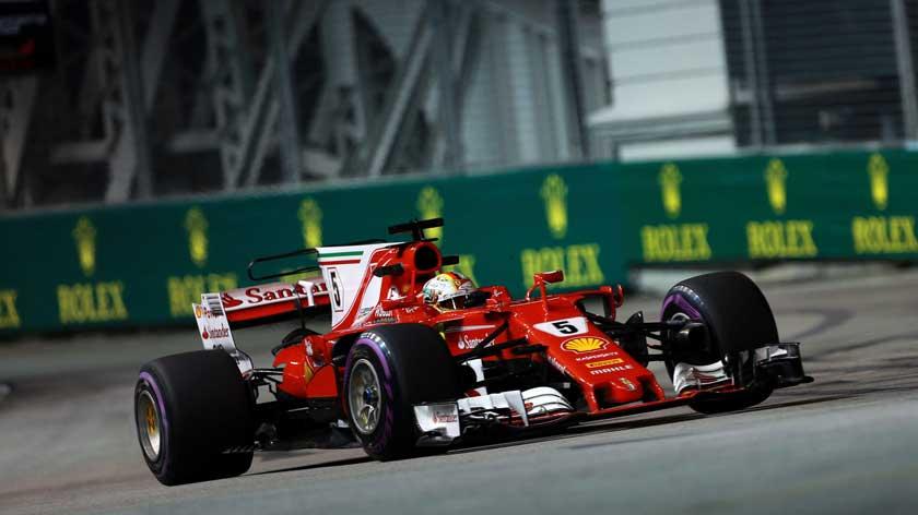 Ferrari SF70H - zver Formule 1