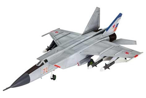 Mig 25 Foxbat - bolid F1 među avionima!