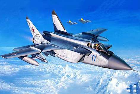 MiG 31 Foxhound - Revell 1:144