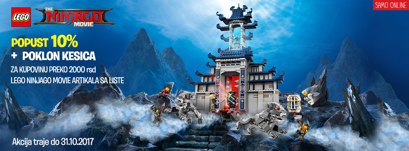 LEGO Ninjago Movie Akcija