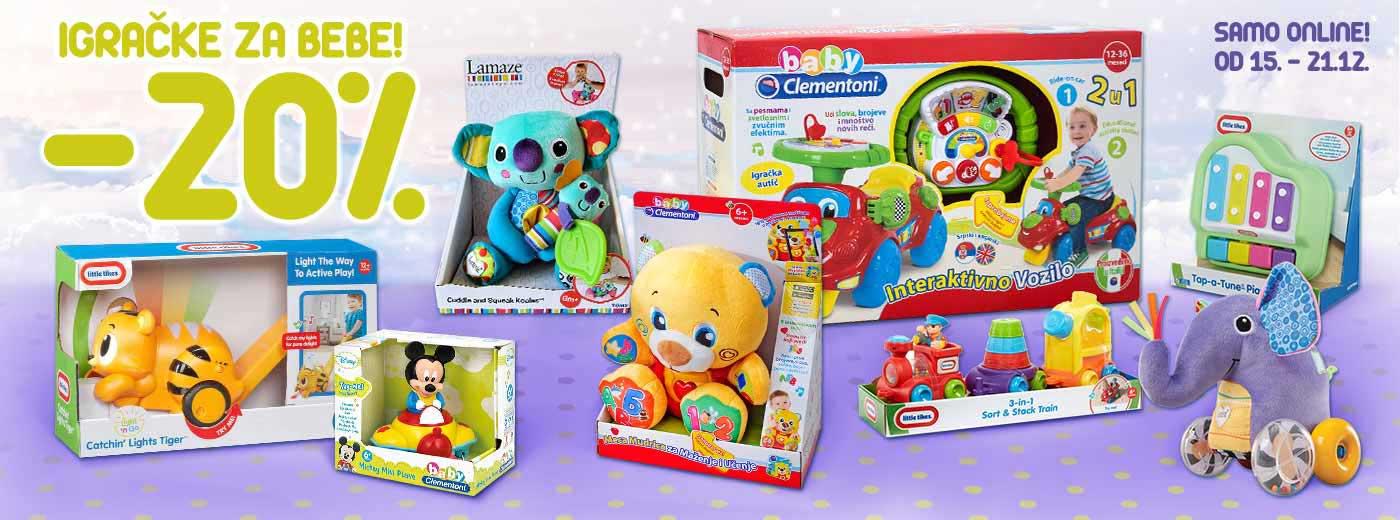 Igračke za bebe - online akcija