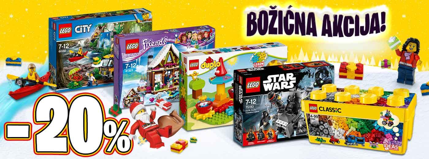 LEGO božićna akcija