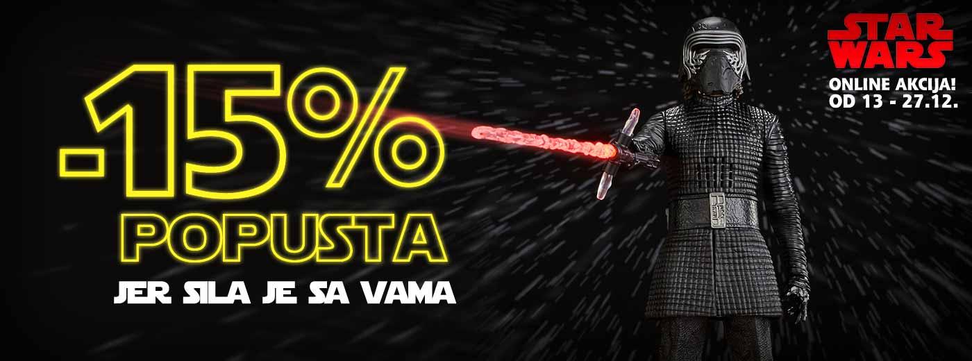 Star Wars online akcija