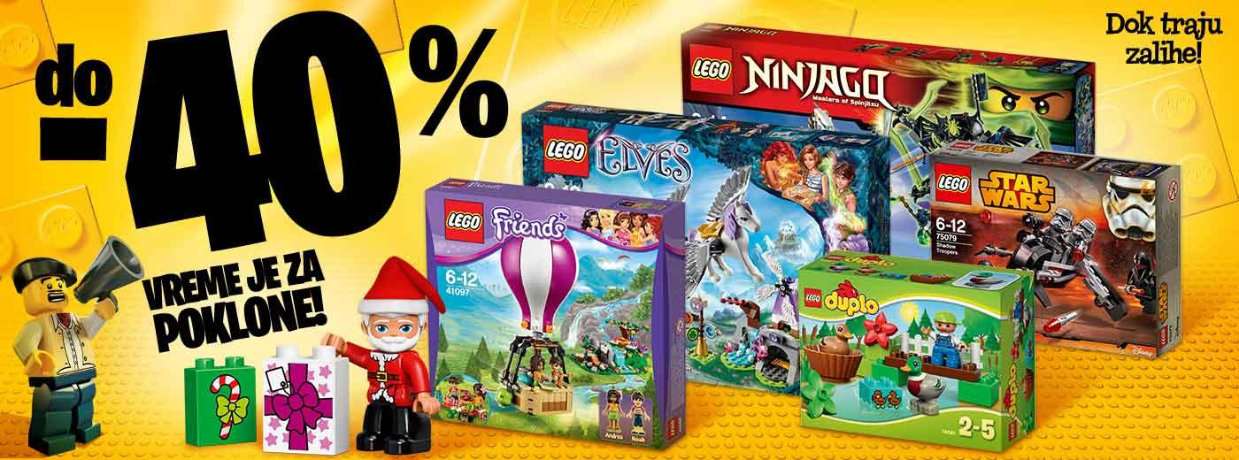 Vreme je za LEGO poklone