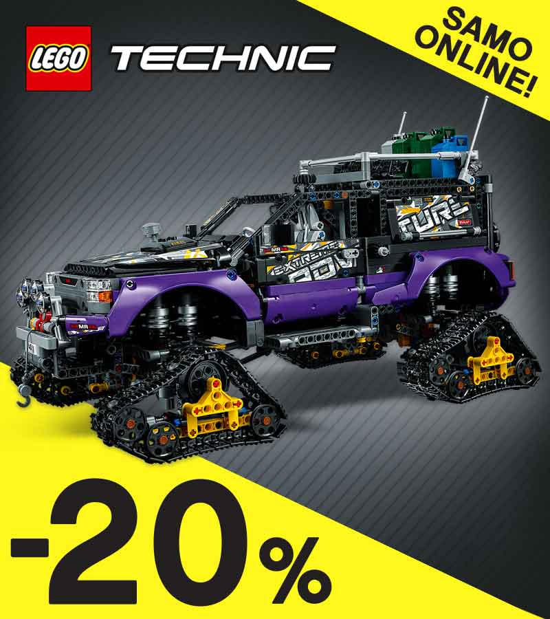 LEGO Technic slavi rodjendan