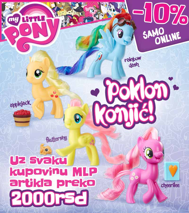 My Little Pony akcija