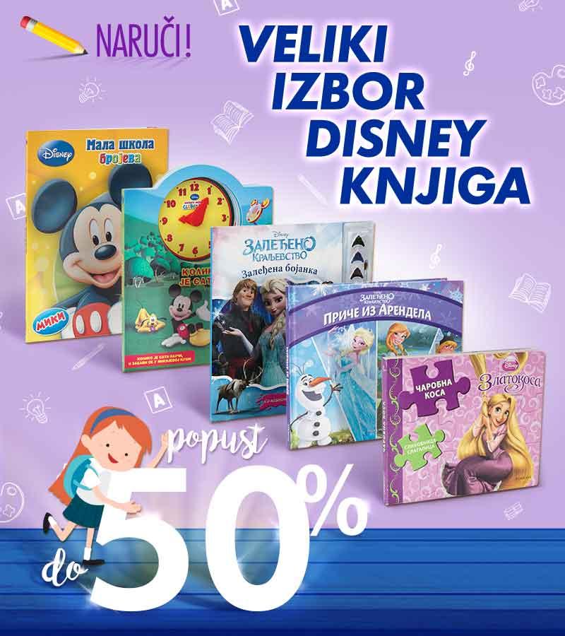 Disney knjige do 50%