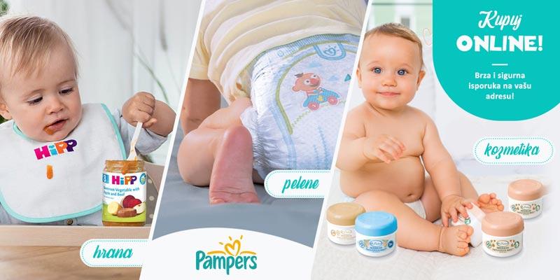 Sve za bebe kupujte onlajn!