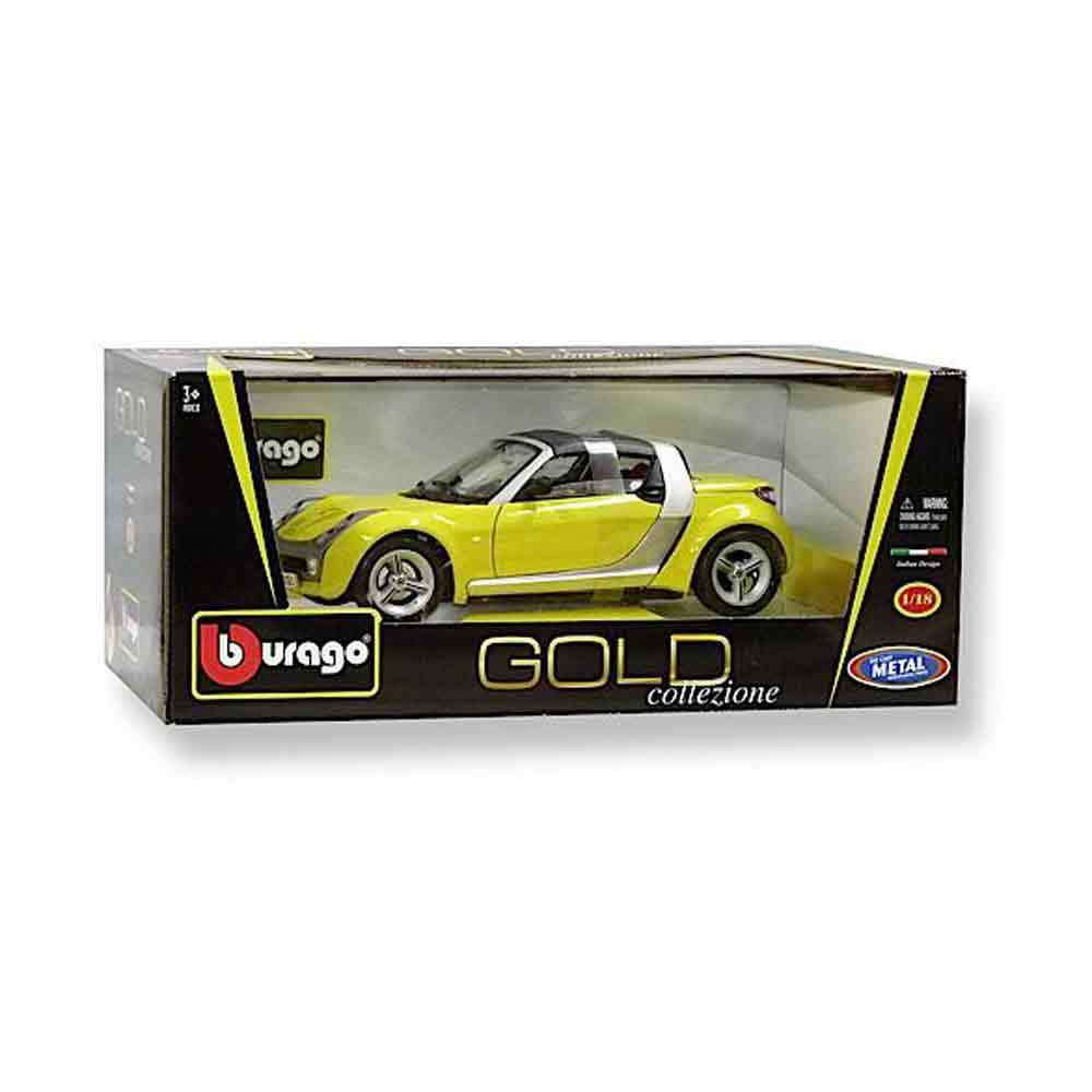 BURAGO GOLD 1:18 SMART ROADSTER