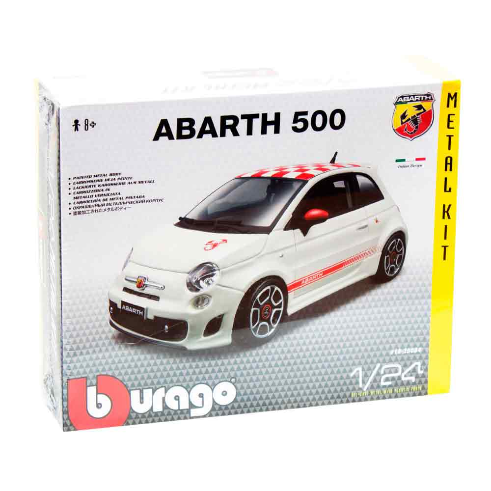 BURAGO KIT 1:24 FIAT 500 ABARTH