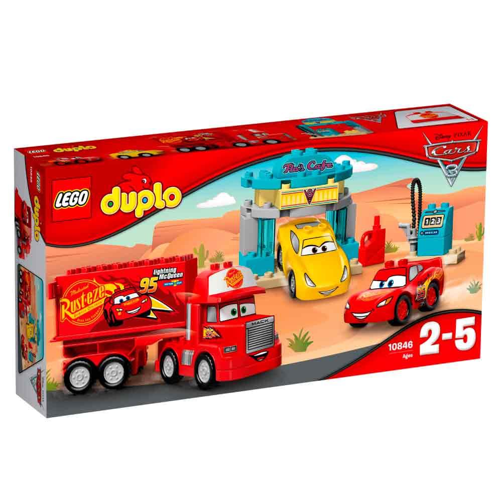 LEGO DUPLO CARS FLO'S CAFE 3