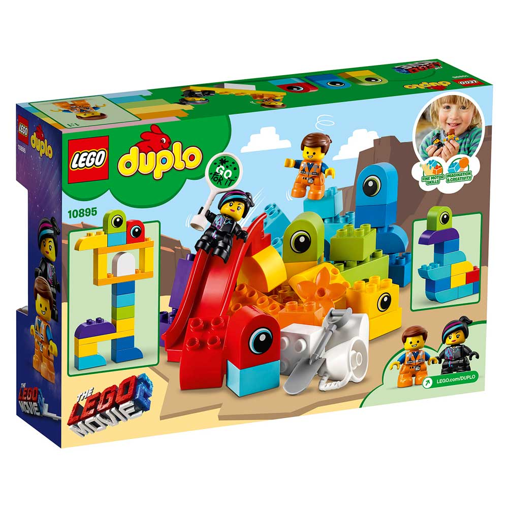 LEGO DUPLO EMMET AND LUCY'S VISITORS