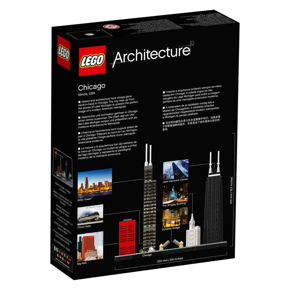 LEGO ARCHITECTURE CHICAGO