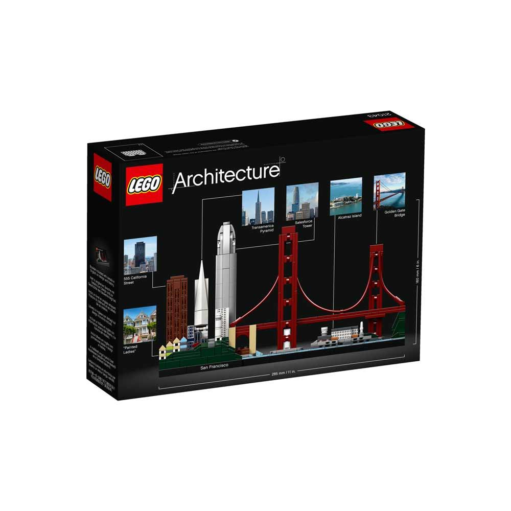 LEGO ARCHITECTURE SAN FRANCISCO