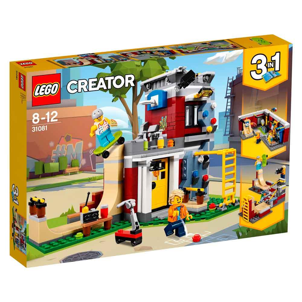 LEGO CREATOR MODULAR SKATE HOUSE