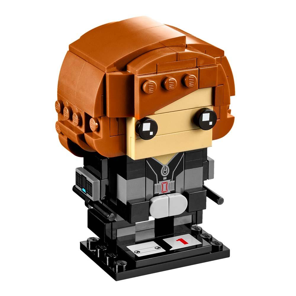 LEGO BRICK HEADZ BLACK WIDOW