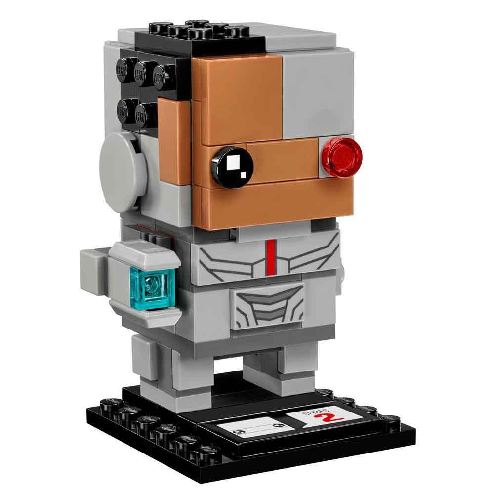 LEGO BRICK HEADZ CYBORG