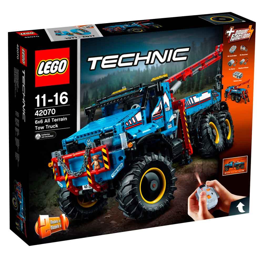 LEGO TECHNIC 6X6 ALL TERRAIN TOW TRUCK