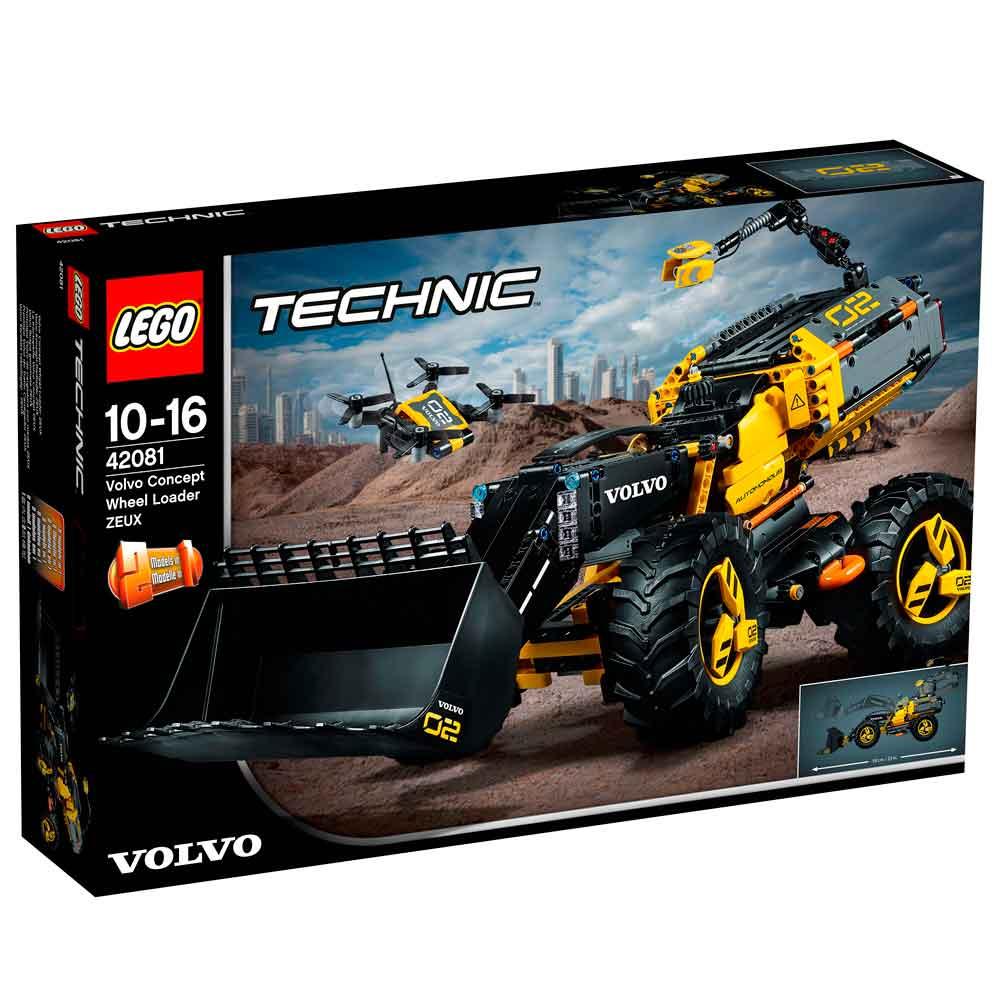 LEGO TECHNIC VOLVO CONCEPT WHEEL LOADER