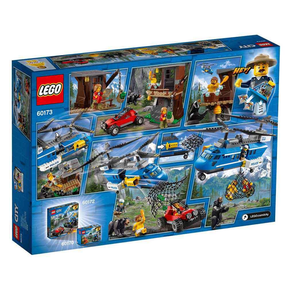 LEGO CITY MOUNTAIN ARREST