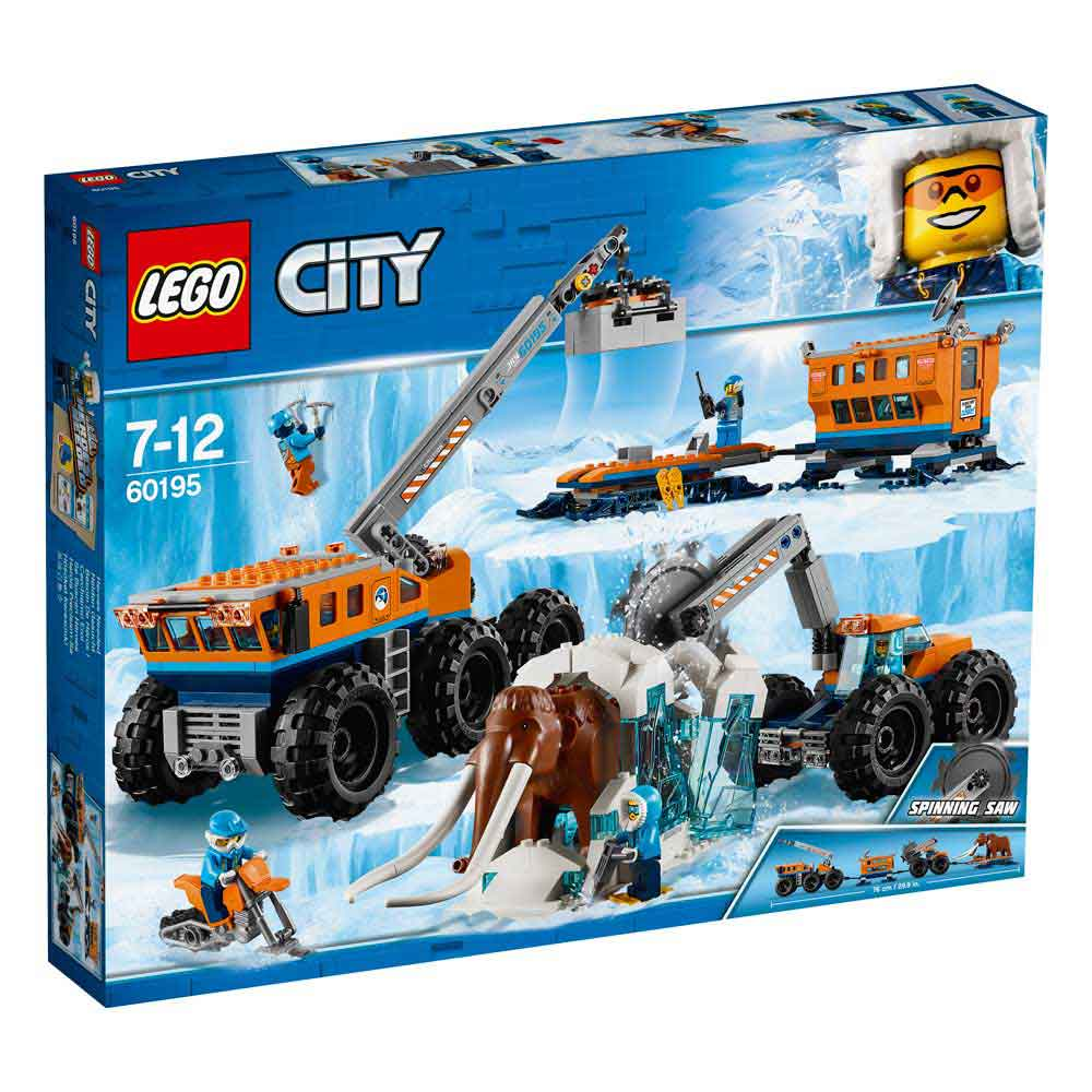 LEGO CITY ARCTIC MOBILE EXPLORATION BASE