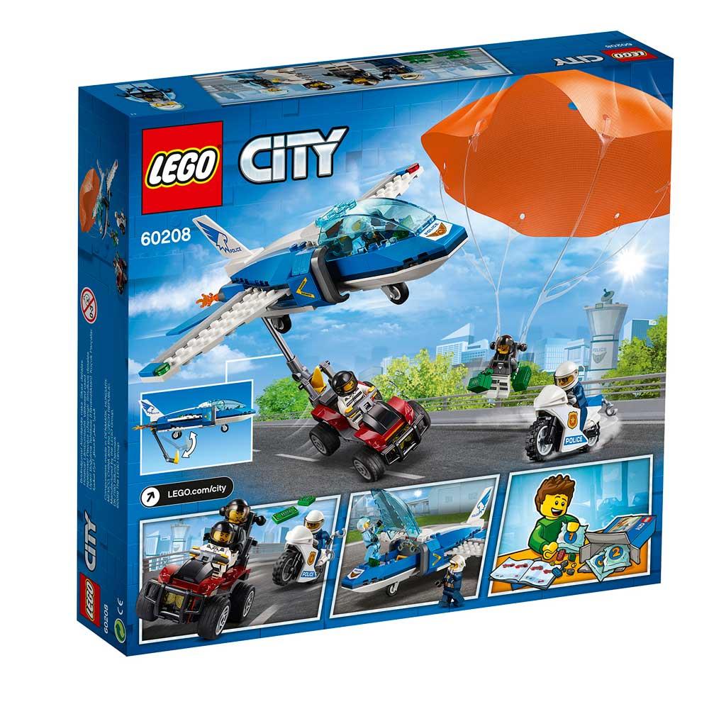 LEGO CITY SKY POLICE PARACHUTE ARREST