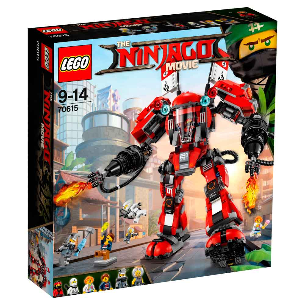 LEGO NINJAGO MOVIE FIRE MECH