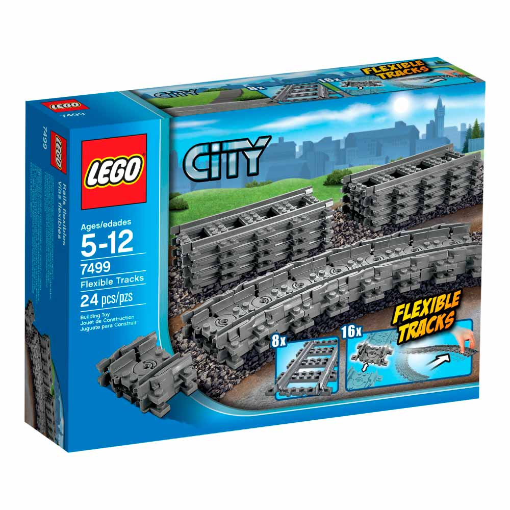 lego city flexible tracks sine le7499 dexy co kids internet prodavnica. Black Bedroom Furniture Sets. Home Design Ideas