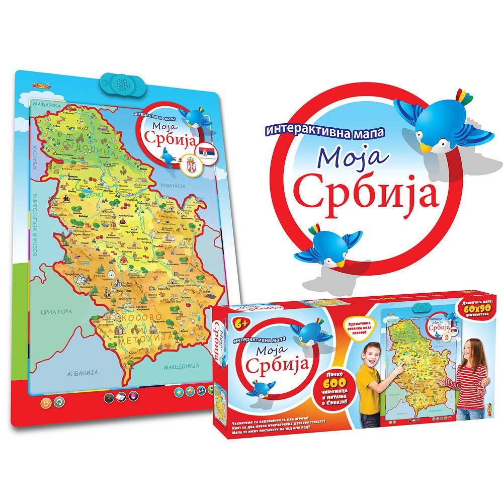 Interaktivna Mapa Moja Srbija Lvz0355 Dexy Co Kids Internet