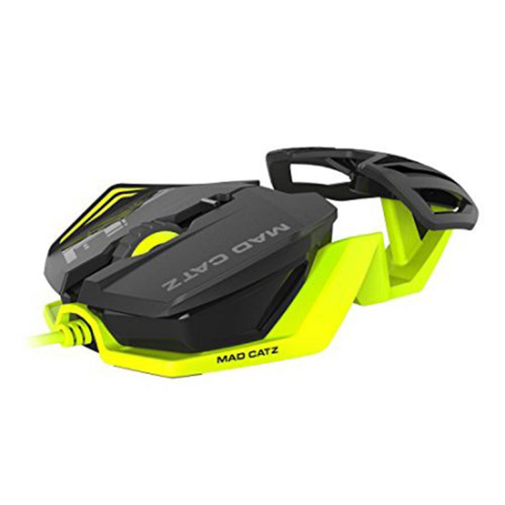 MAD CATZ R.A.T.1 WIRED GAMING MIS - GREEN/BLACK