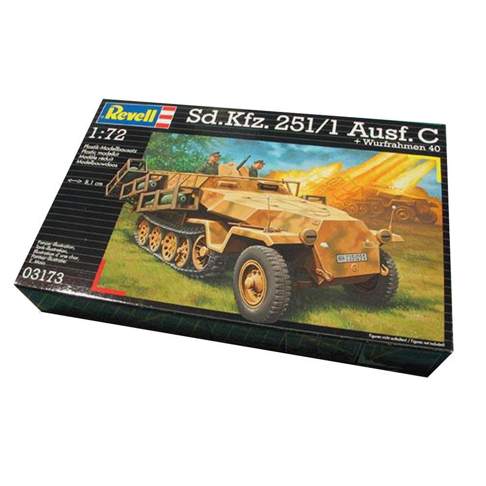 REVEL MAKETA Sd.Kfz. 251/1 Ausf. C mit W 090