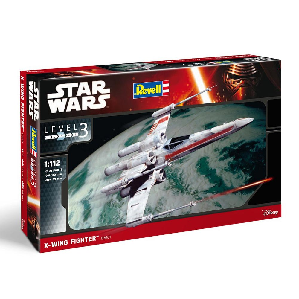 REVEL MAKETA  X-WING FIGHTER