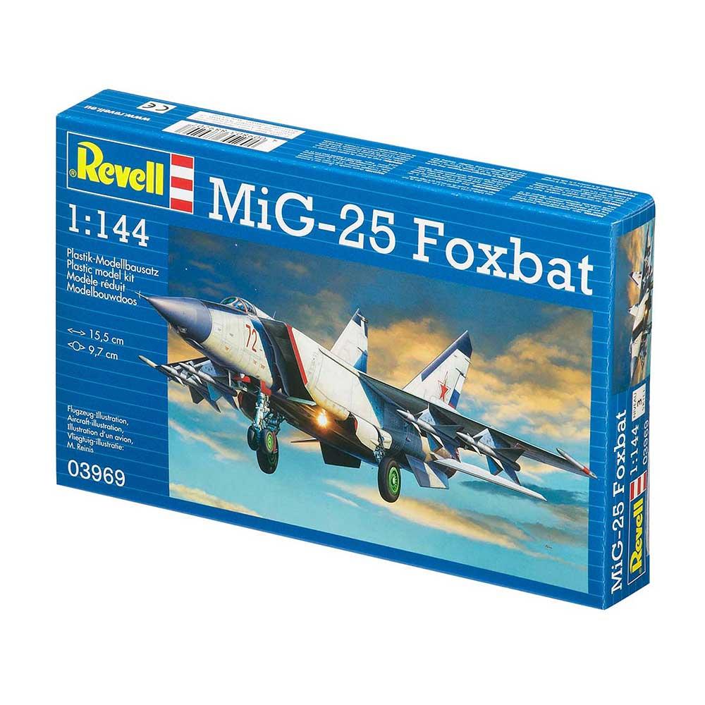 REVELL MAKETA  MIG-25 FOXBAT
