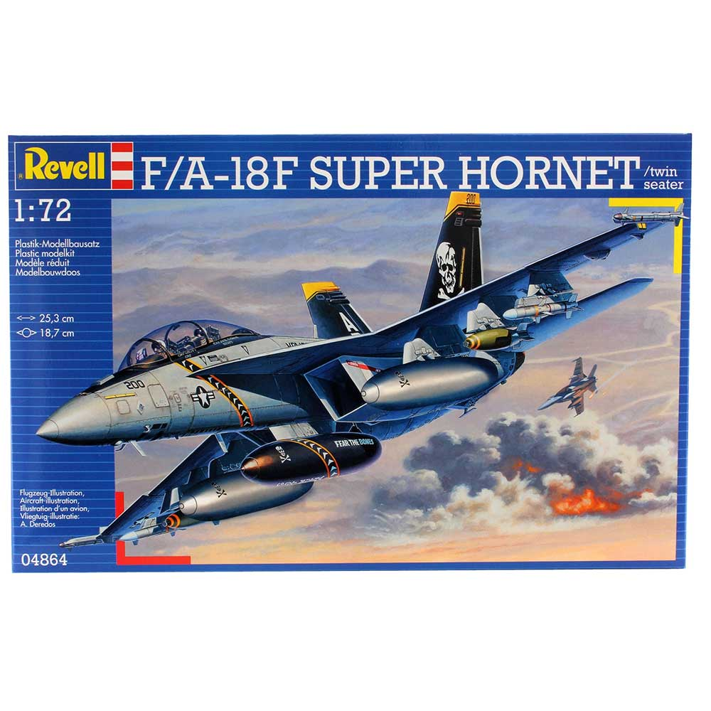 REVELL MAKETA  F/A-18F SUPER HORNET twin seater