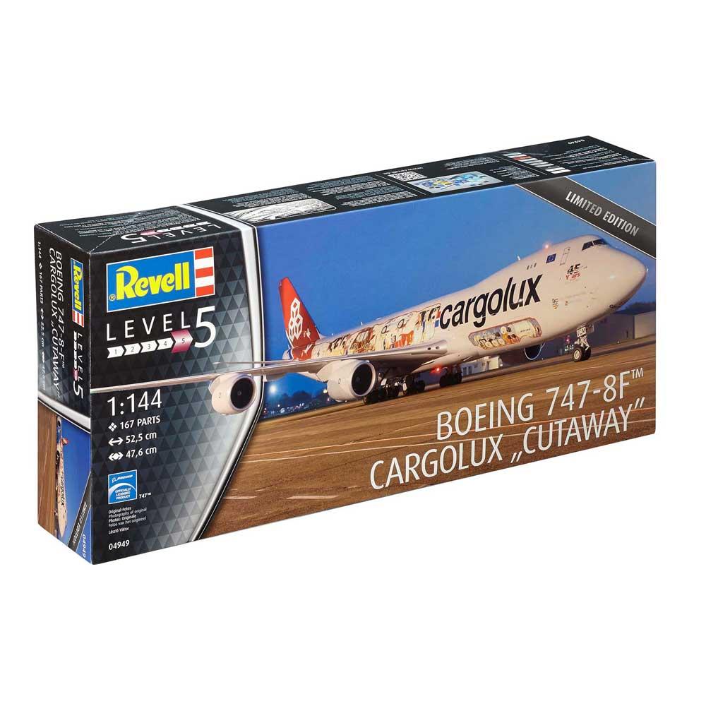 REVELL MAKETA BOEING 747-8F CARGOLUX
