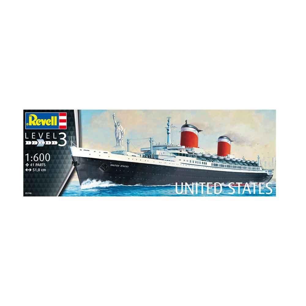 REVELL MAKETA SS UNITED STATES