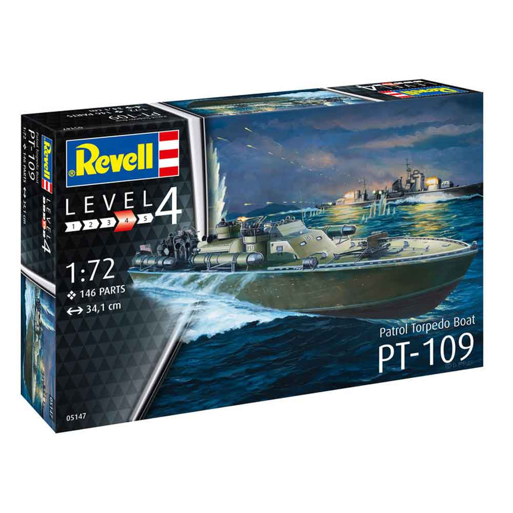 REVELL MAKETA PATROL TORPEDO BOAT PT 109