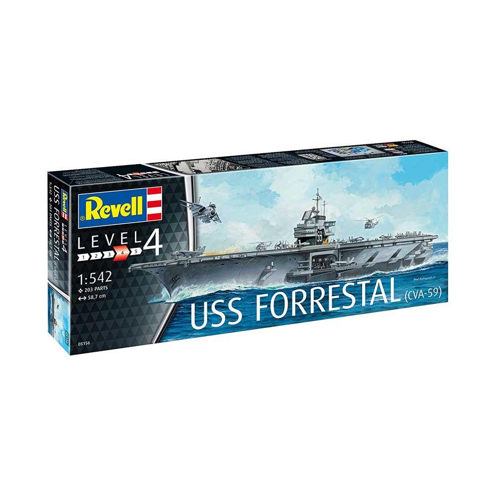 REVELL MAKETA USS FORRESTAL (CVA-59)
