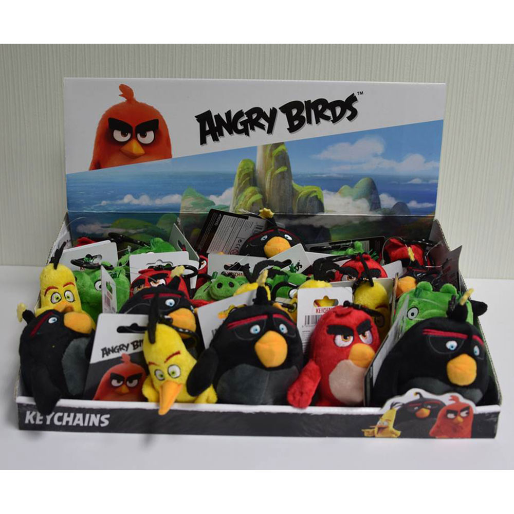 ANGRY  BIRDS FIGURINA PRIVEZAK -  PLIS