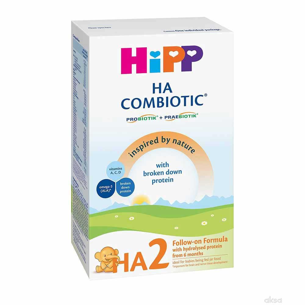 HIPP HA2 COMBIOTIC, PRELAZNA FORMULA ZA ODOJCAD 350G 6M