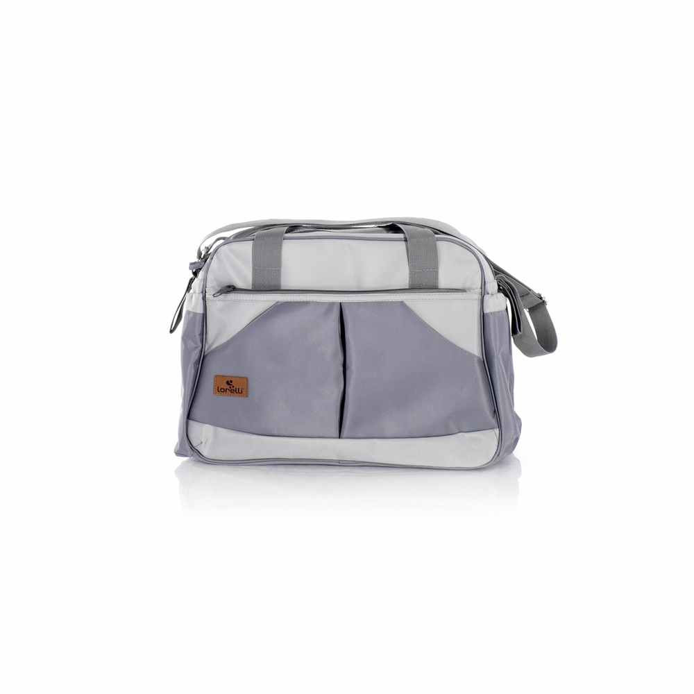 LORELLI TORBA ZA MAME SANDRA LIGHT DARK GREY