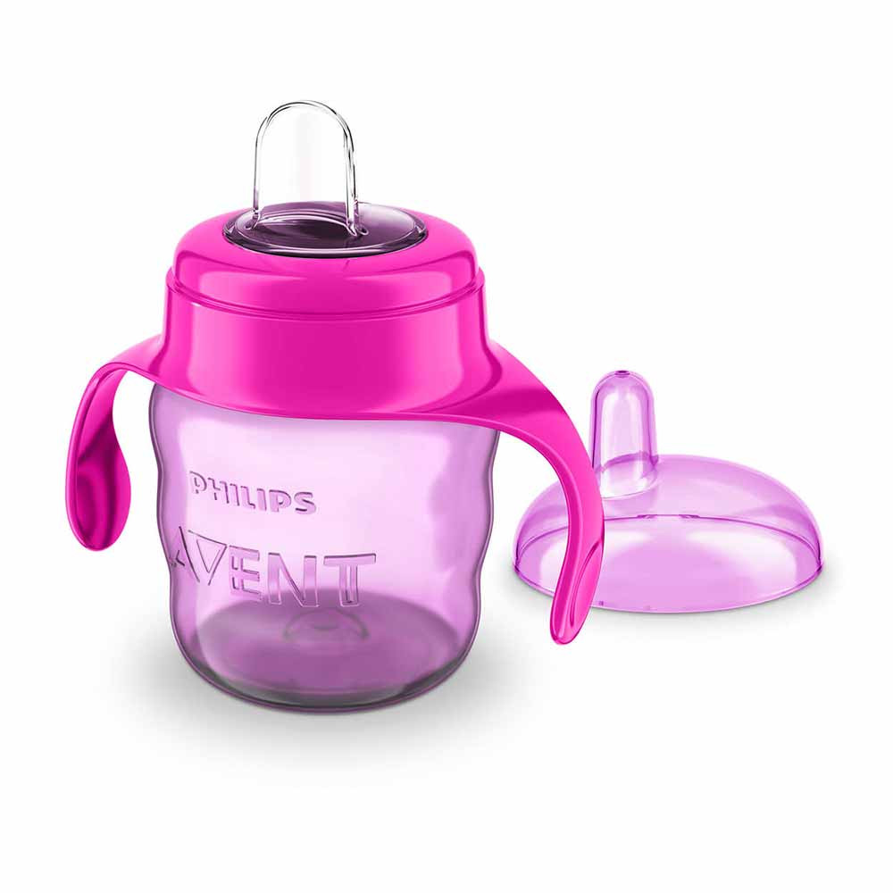 AVENT SPOUT CUP  EASY SIP 7OZ/200ML 6M  PINK PHILIPS