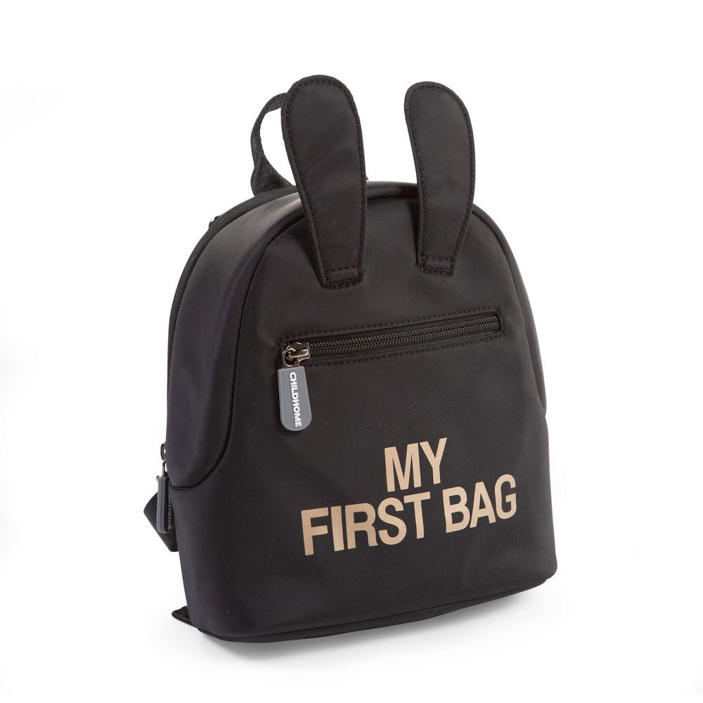 CHILDHOME MY FIRST BAG BLACK GOLD