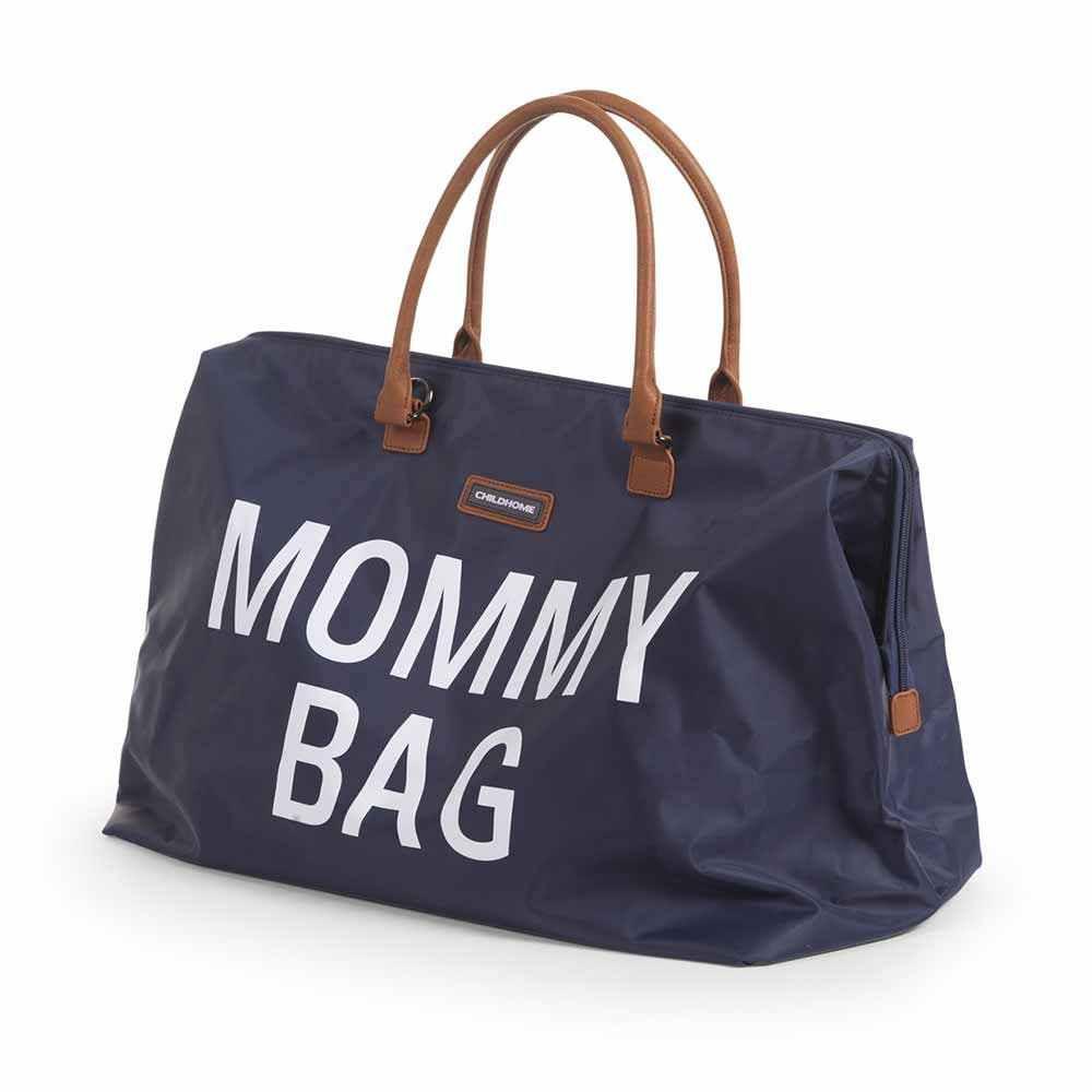 CHILDHOME MOMMY BAG BIG, RUCNA TORBA NAVY