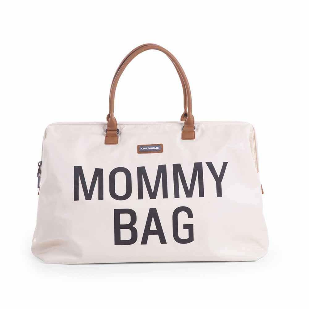 CHILDHOME MOMMY BAG BIG, RUCNA TORBA OFF WHITE