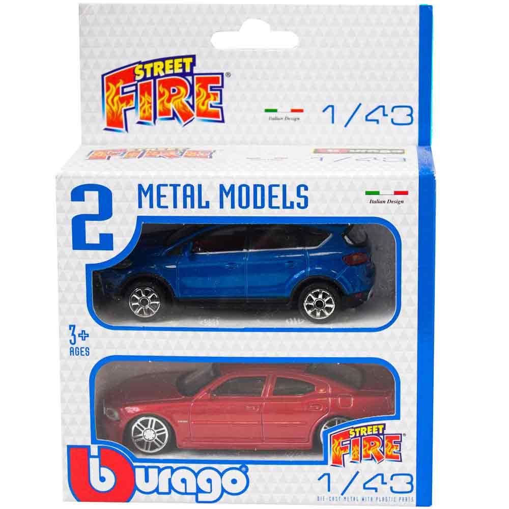 BURAGO STREET FIRE SET 2 KOM